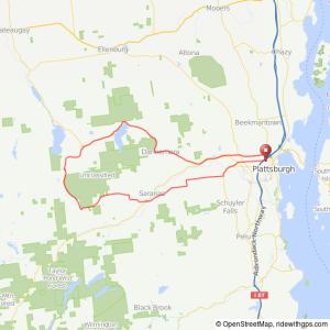 Plattsburgh-Standish bicycle ride