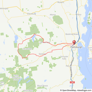 Plattsburgh-Standish bicycle ride