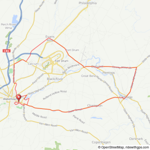 Watertown-Carthage bicycle ride
