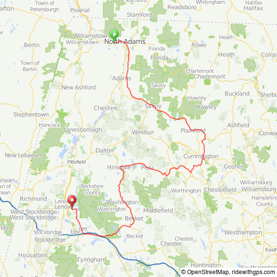 Lenox to North Adams