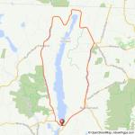 Barkhamsted Reservoir Hartland bike ride