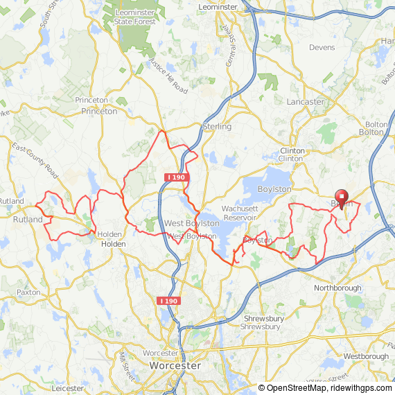 Berlin-Rutland bicycle ride