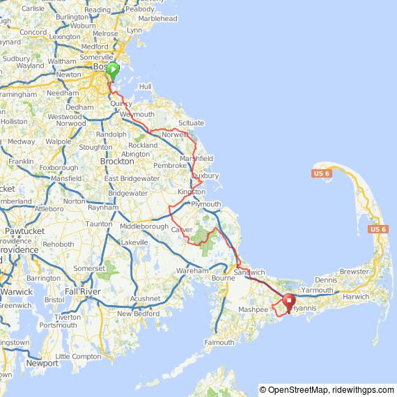 Boston Best Buddies bicycle ride