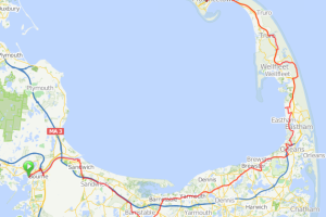 Bourne to Provincetown Cape Cod bicycle ride