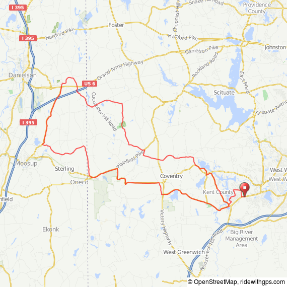 Coventry half century bicycle ride