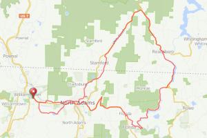 Deerfield River North Adams bicycle ride