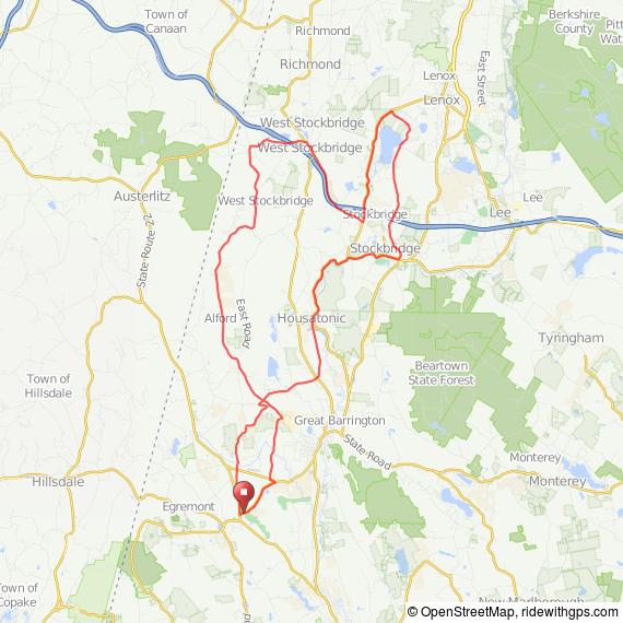 Great Barrington-Stockbridge bicycle ride