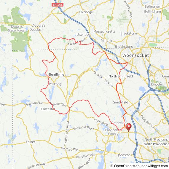 Greenville RI bicycle ride