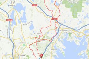 Mattapoisett - Carver bicycle ride