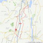 New Paltz - Kingston bicycle ride