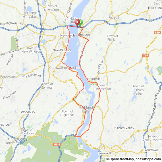 Newburgh-Highlands bicycle ride