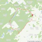 North Creek Ididaride bicycle ride