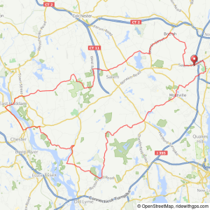 Norwich Metric Century bicycle ride
