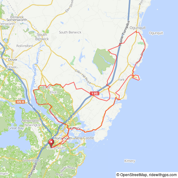 Portsmouth - Ogunquit ride
