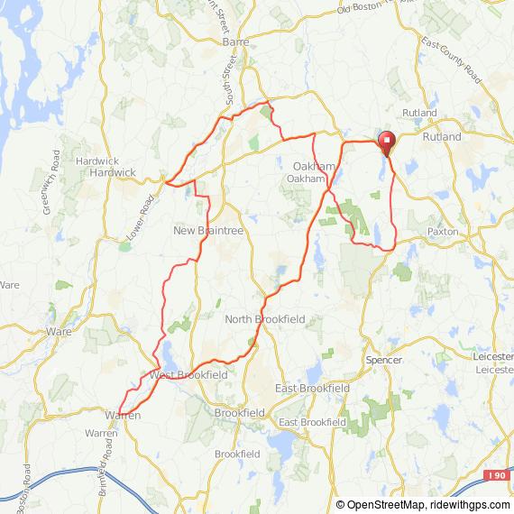 Rutland-Warren bicycle ride