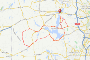 Scituate Reservoir bicycle ride