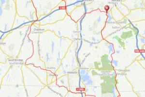 Singletary Pond bicycle ride