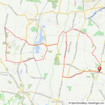 Suffield-Congamond bicycle ride