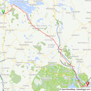 Trans New Hampshire bicycle ride