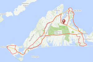 Martha's Vineyard bicycle ride