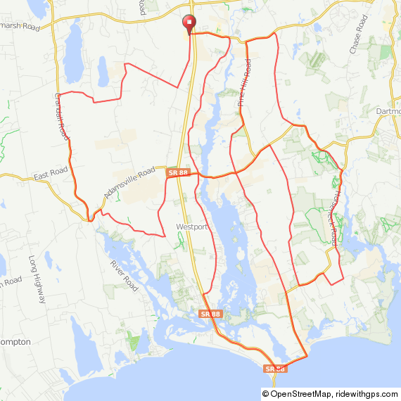 Westport MA bicycle ride