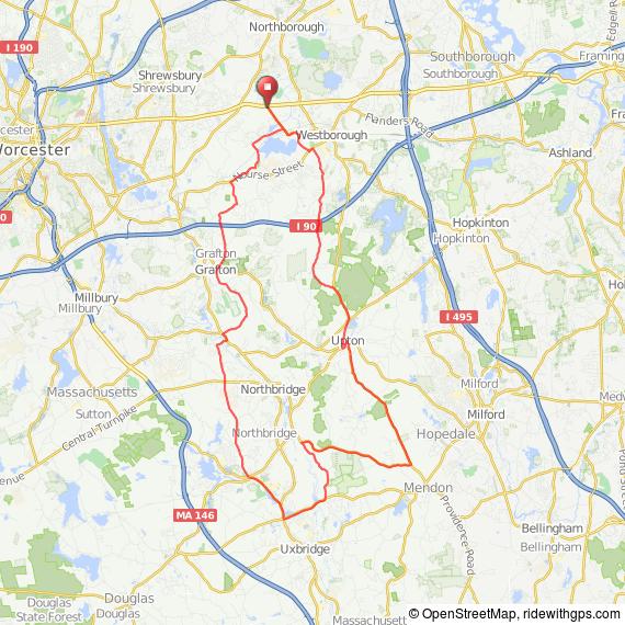 Blackstone Valley bicycle ride