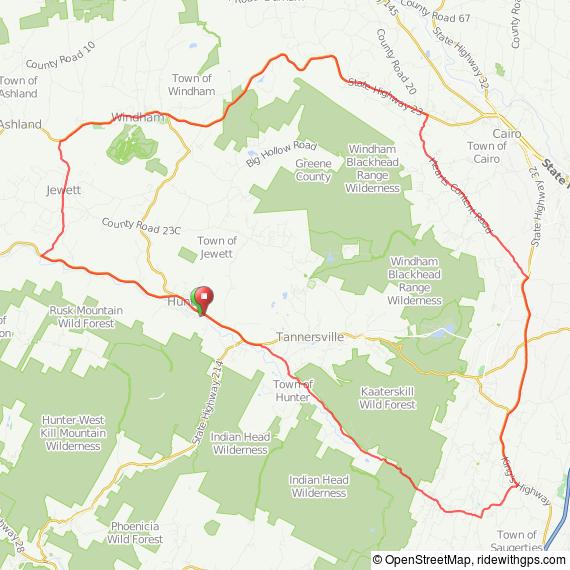 Catskill Mountain Classic bicycle ride