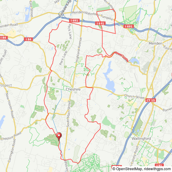 Hampden - Cheshire CT bicycle ride