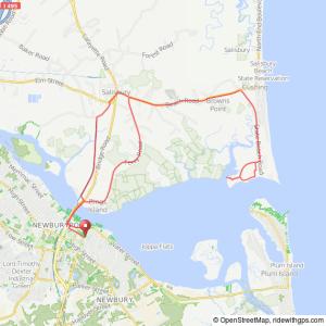 Newburyport to Salisbury Beach bicycle ride