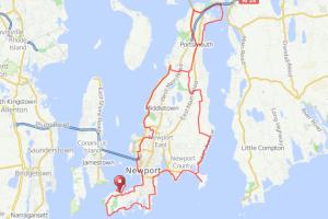 Newport RI bicycle ride