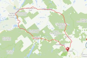 North Creek Teddy's bicycle ride