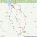 Northern Lakes VT bicycle ride