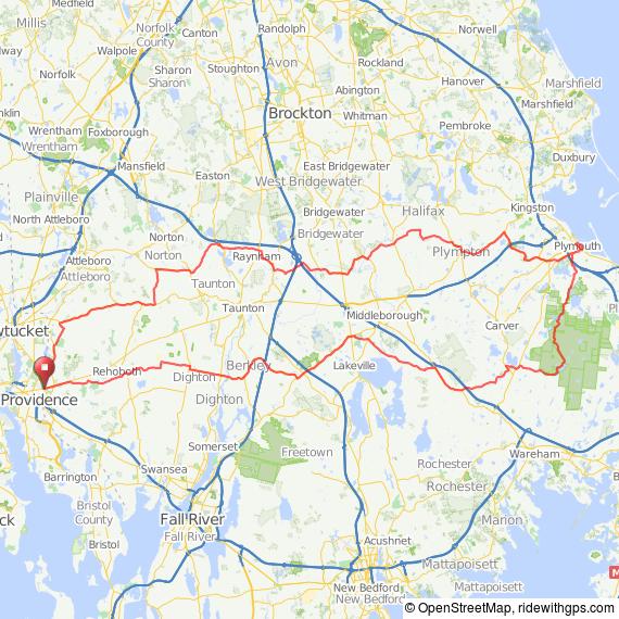 Seekonk Century bicycle ride