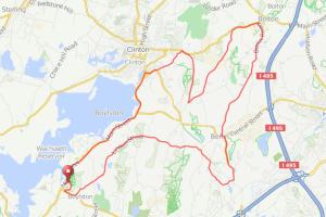 Boylston Tower Hill bike ride