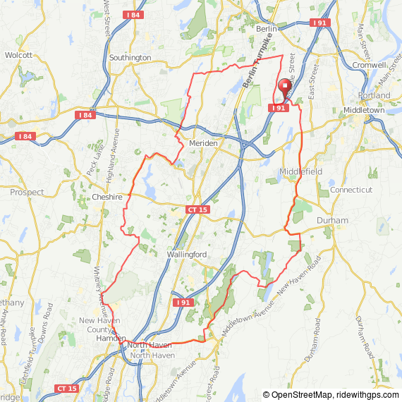 Middleton - Hampden CT bicycle ride