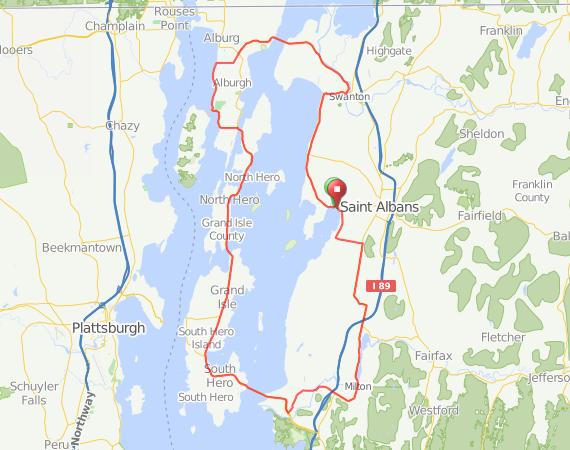 St. Albans Northern Vermont Tour – Bike New England