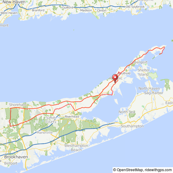 Peconic Bay bicycle ride