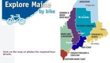 Explore Maine bicycle rides