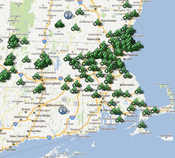 Bikes Of New England Bicycle rides in Massachusetts