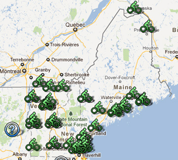 Bikes Of New England in northern New England