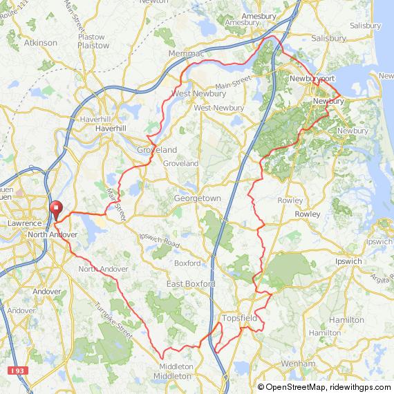 Breakaway Ride, North Andover MA