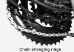 Ride your chain back on