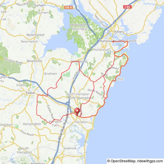 Coastal NH bicycle ride