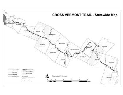 Cross-Vermont trail