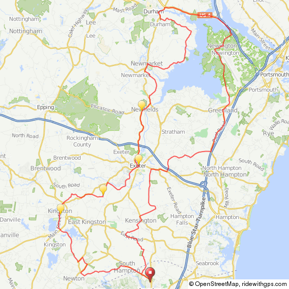 Amesbury - Great Bay ride