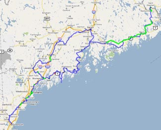 The East Coast Greenway In Maine  Bike New England