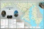 Maryland cycling map