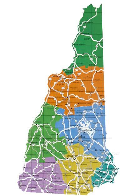 New Hampshire DOT bike routes