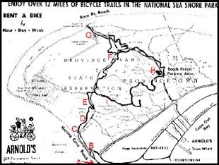 Provincelands Bike Trails