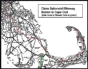Claire Saltonstall Bikeway